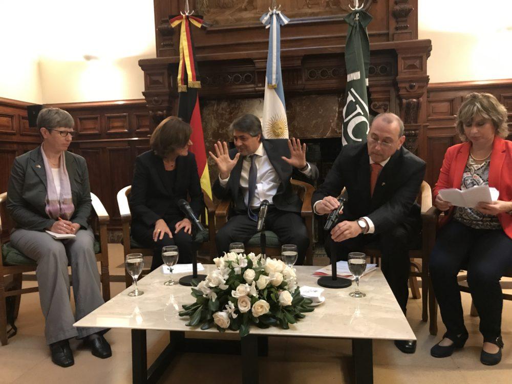 Besuch der Bundesratspräsidentin Malu Dreyer in Argentinien