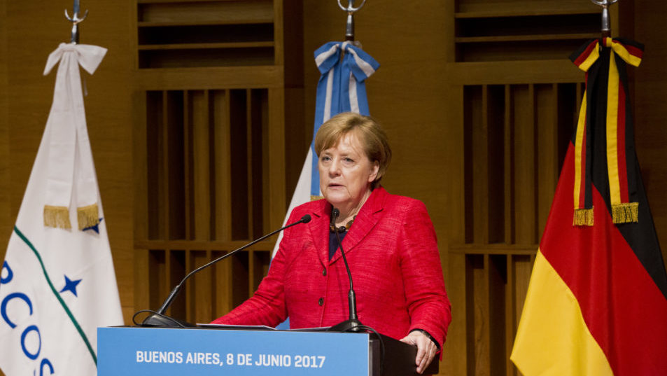 Besuch von Bundeskanzlerin Merkel in Argentinien 2017